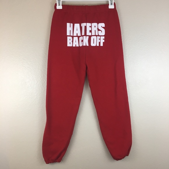 great variety styles the best attitude select for latest Jerzees NuBlend Haters Back Off Sweatpants Youth M